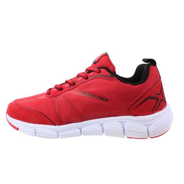 Tenis-Menino-Black-Free-Tecido-Vermelho