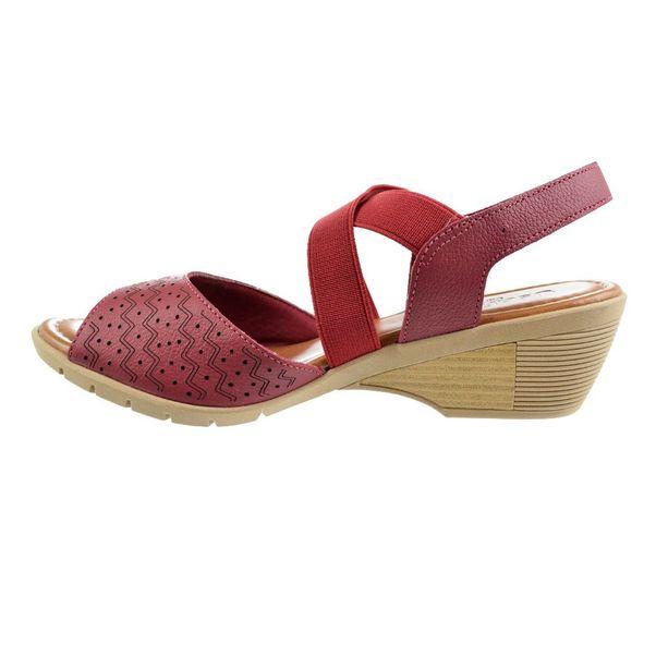 Sandalia-Salto-Baixo-Usaflex-Jump-Vermelho-