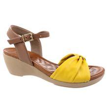Sandalia-Anabela-Usaflex-Solar-Marrom-Amarelo