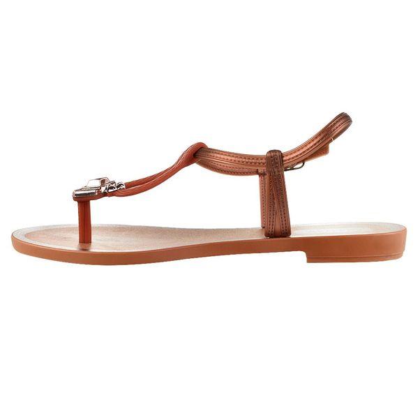 Sandalia-Rasteira-Grendha-Essencial-Marrom-Feminino