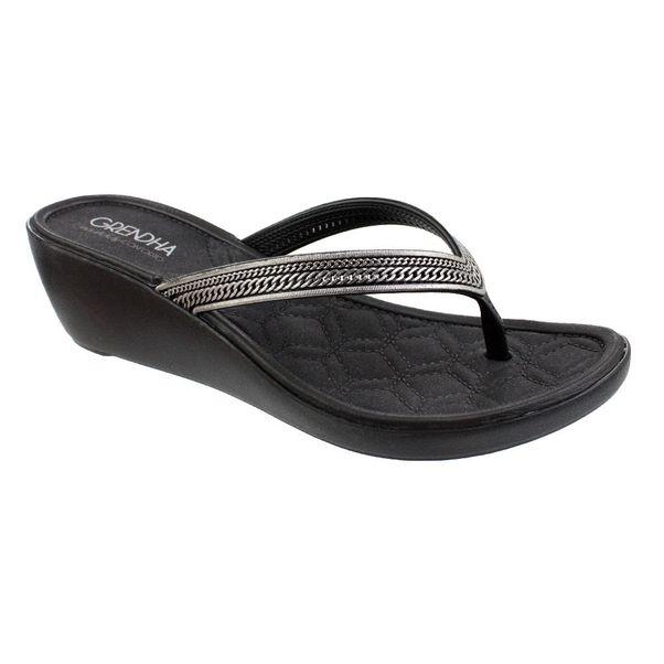 Tamanco-Grendha-Pitanga-Light-Silver-Black
