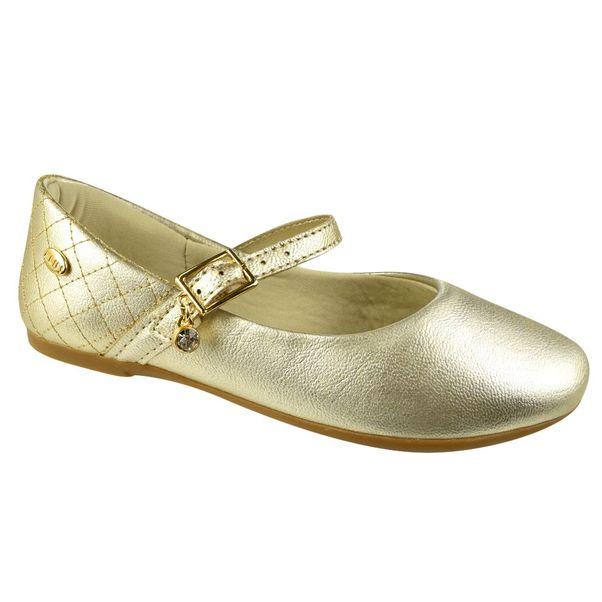 Sapatilha-Menina-Klin-Princess-Baby-Dourado