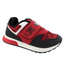 Tenis-Menino-Klin-Mini-Walk-Vermelho-Preto