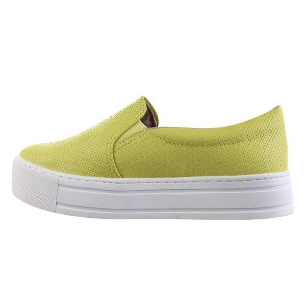 Slip-On-Flatform-Via-Marte-Colored-Amarelo