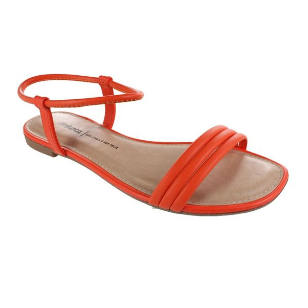 Sandalia-Rasteira-Dakota-Caprese-Orange