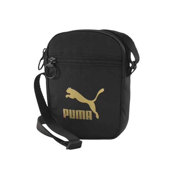 Bolsa-Puma-Originals-Woven-Preto-Dourado