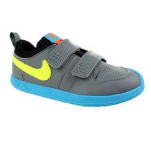 Tenis-Casual-Infantil-Nike-Pico-5-Cinza-Amarelo-Cinza-Amarelo