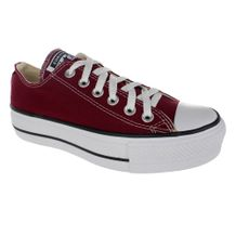 Tenis-Casual-Flatform-Converse-All-Star-Vinho