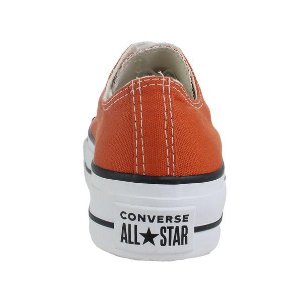 Tenis-Casual-Flatform-Converse-All-Star-Laranja-Feminino