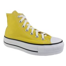 Tenis-Casual-Cano-Alto-Flatform-Converse-All-Star-Amarelo-Feminino