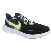 Tenis-Nike-Revolution-5-Preto-Verde-Masculino