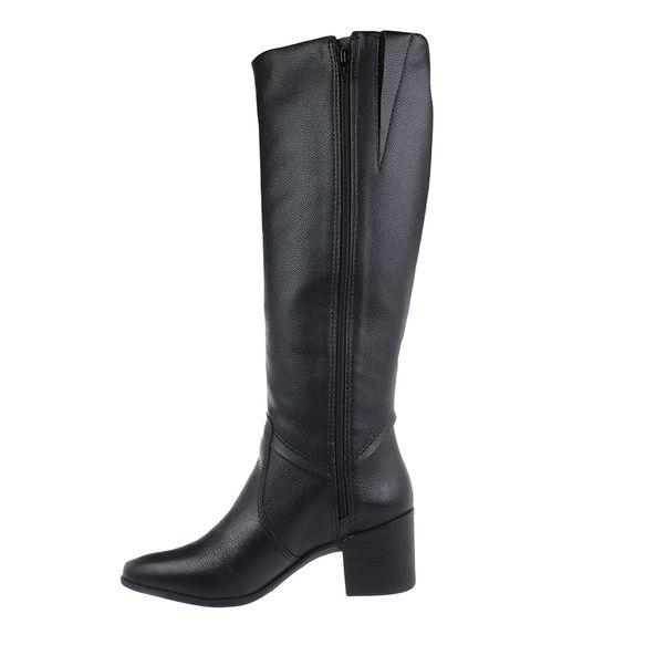 Bota-Cano-Alto-Bottero-Leather-Preto