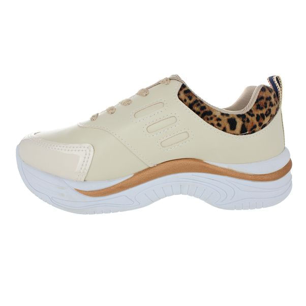 Tenis-Chunky-Infantil-Pink-Cats-Mixtura-Bege