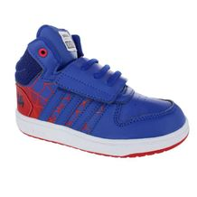 Tenis-Casual-Cano-Alto-Infantil-Adidas-Hoops-Mid-2.0-Blue-Red