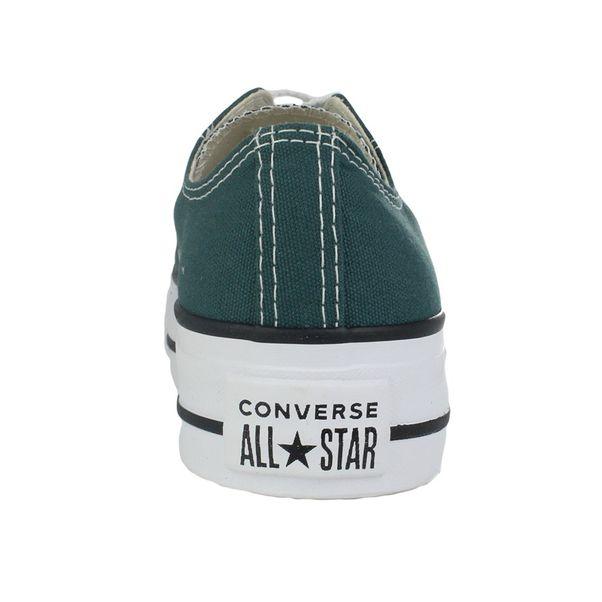 Tenis-Casual-Flatform-Converse-All-Star-Verde-Feminino