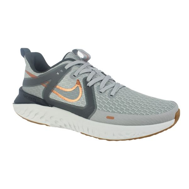 Tenis-Nike-Legend-React-2-Cinza-Dourado-Masculino