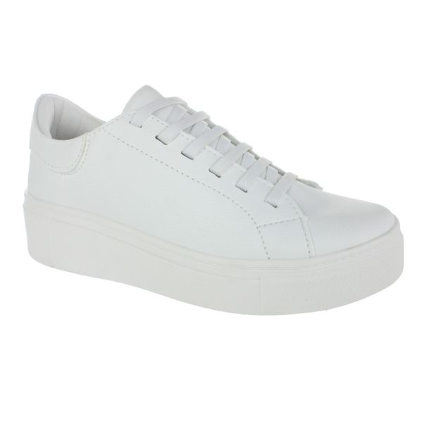 Tenis-Casual-Flatform-Done-Head-Extreme-White