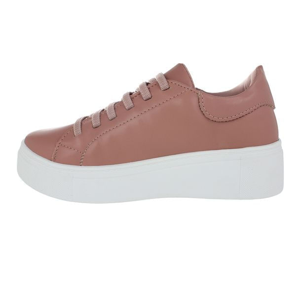 Tenis-Casual-Flatform-Done-Head-Extreme-Pink