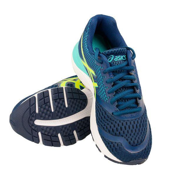 Tenis-Infantil-Asics-Pulse-10-AGS-Marinho-e-Amarelo