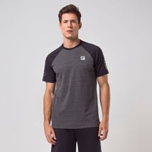 Camiseta-Fila-Grey-Black-Masculino