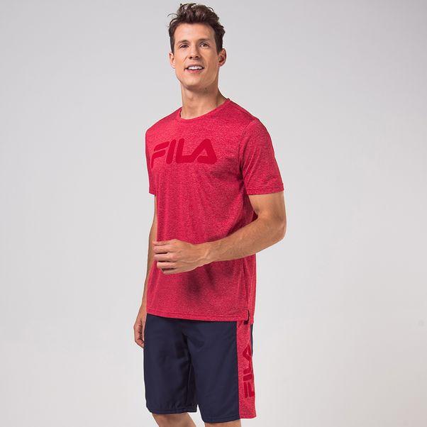 Camiseta-Fila-Remera-Vermelho