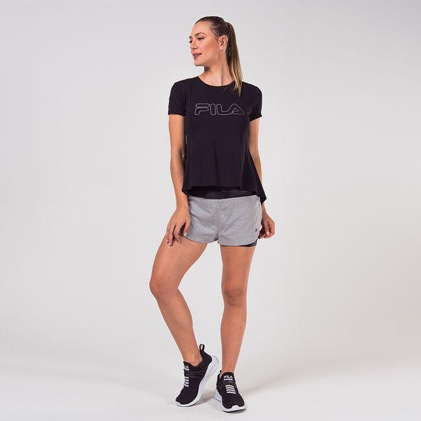 Shorts-Fila-Flex-Cinza-e-Preto-Feminino