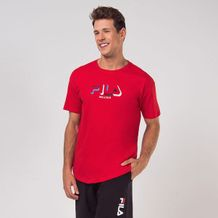 Camiseta-Fila-Classic-Vermelho