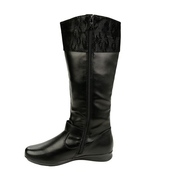 Bota-Cano-Alto-Moon-City-Beautiful-Black