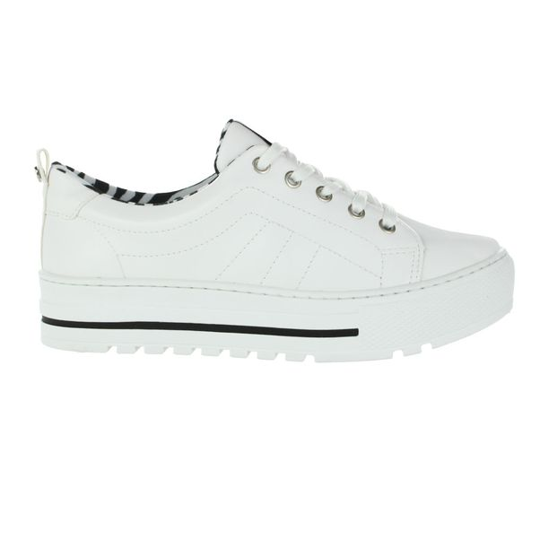 Tenis-Casual-Flatform-Via-Marte-Animal-Branco