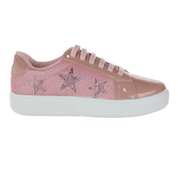 Tenis-Casual-Infantil-Lalita-Stars-Pink