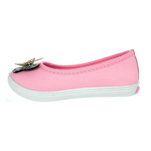 Sapatilha-Infantil-Florattinha-Butterfly-Pink-Visao-Lateral