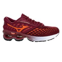 Tenis-Mizuno-Wave-Creation-21-Wine-Orange-Vinho-Laranja
