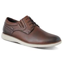 Sapato-Casual-Ferracini-Trindade-Cadarco-Masculino-Marrom-Visao-Lateral